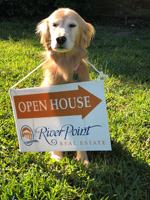 GINGER OPEN HOUSE SIGN