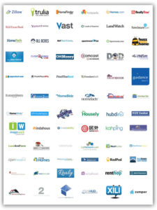 Real Estate listing services logos